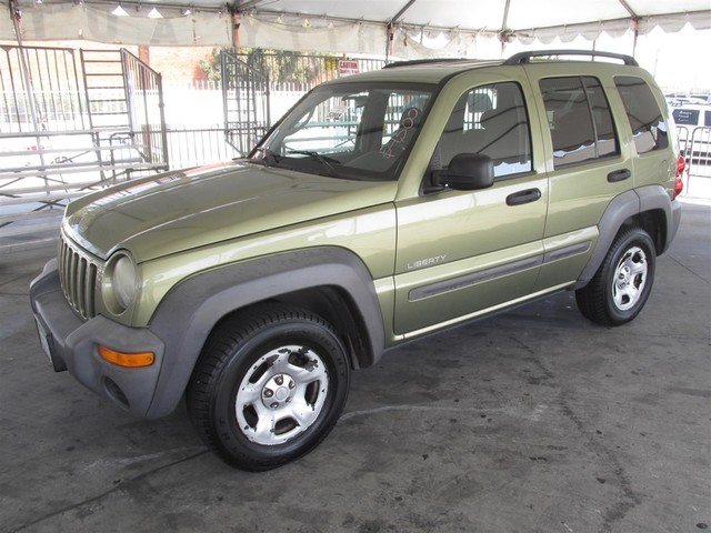 2004 Jeep Liberty Sport Please call or e-mail to check availability All of our vehicles are ava
