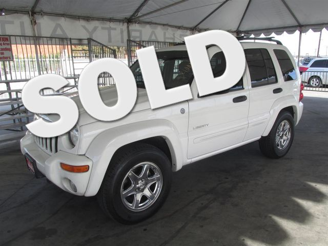 2004 Jeep Liberty Limited Please call or e-mail to check availability All of our vehicles are a