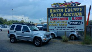 2004 Jeep Liberty Renegade  city MD  South County Public Auto Auction  in Harwood, MD