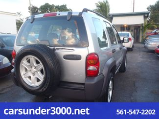 2004 Jeep Liberty Sport Lake Worth , Florida 2
