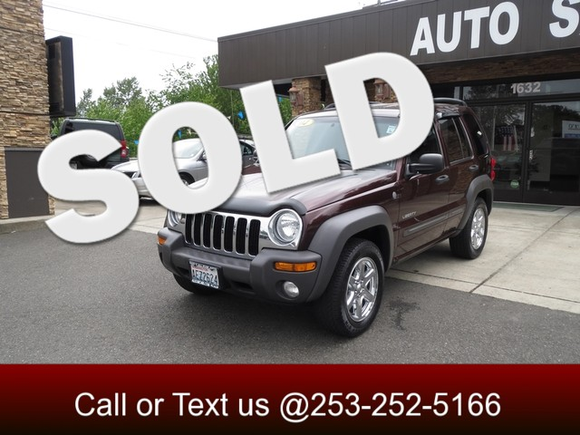 2004 Jeep Liberty Sport 4WD The CARFAX Buy Back Guarantee that comes with this vehicle means that