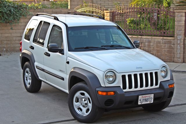 2004 Jeep LIBERTY SPORT AUTOMATIC ONLY 61K ORIGINAL MILES SERVICE RECORDS Woodland Hills, CA 7
