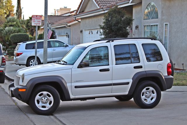 2004 Jeep LIBERTY SPORT AUTOMATIC ONLY 61K ORIGINAL MILES SERVICE RECORDS Woodland Hills, CA 1