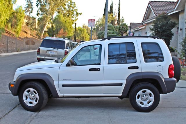 2004 Jeep LIBERTY SPORT AUTOMATIC ONLY 61K ORIGINAL MILES SERVICE RECORDS Woodland Hills, CA 2