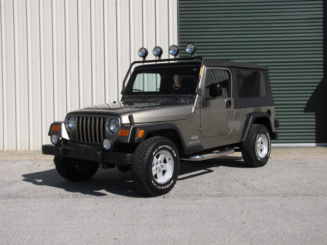 2004 Jeep Wrangler Unlimited Jacksonville , FL 35