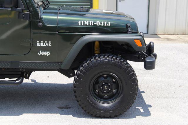 2004 Jeep Wrangler X WILLYS EDITION Jacksonville , FL 28