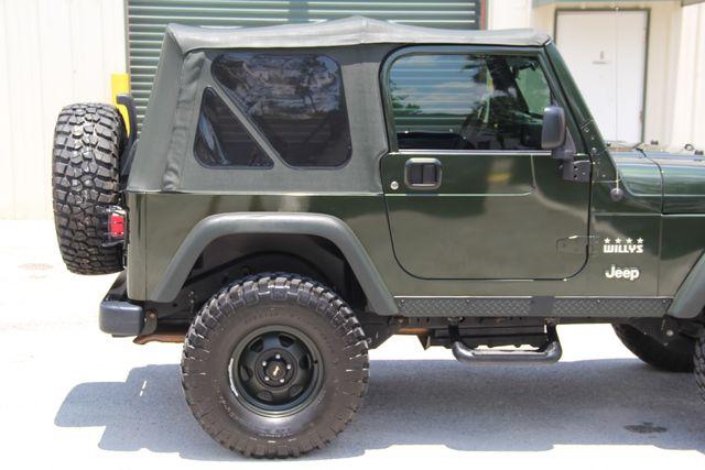 2004 Jeep Wrangler X WILLYS EDITION Jacksonville , FL 29