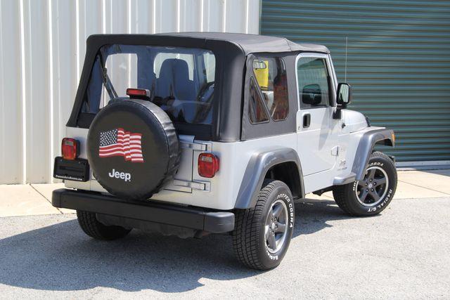 2004 Jeep Wrangler X COLUMBIA EDITION Jacksonville , FL 5