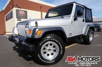 2004 Jeep Wrangler X 4x4 SUV 4.0L 5 Speed Manual | MESA, AZ | JBA MOTORS in Mesa AZ