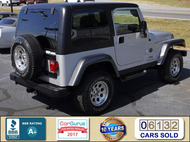2004 Jeep Wrangler X 4WD - ROCKY MOUNTAIN EDITION! Mooresville , NC 2