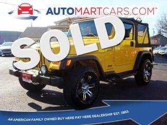 2004 Jeep Wrangler Sport | Nashville, Tennessee | Auto Mart Used Cars Inc. in Nashville Tennessee