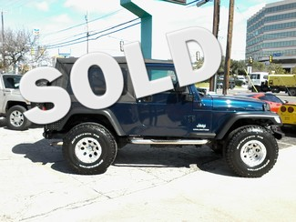 2004 Jeep Wrangler Unlimited San Antonio, Texas