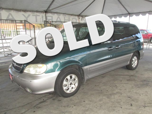 2004 Kia Sedona EX This particular Vehicle comes with 3rd Row Seat Please call or e-mail to check