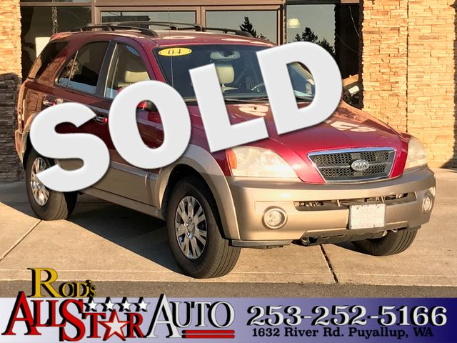 2004 Kia Sorento EX 4WD The CARFAX Buy Back Guarantee that comes with this vehicle means that you