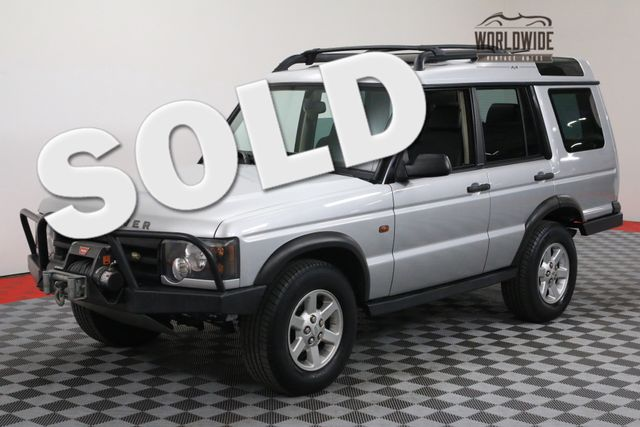 2004 Land Rover DISCOVERY 2 OWNER LOW MILES | Denver, Colorado | Worldwide Vintage Autos