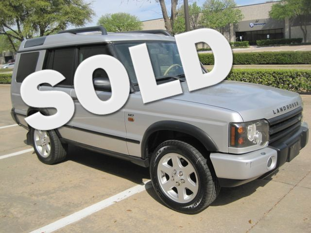 2004 Land Rover Discovery SE7, 3rd Seats, Rear A/C, Very Nice, Drives Great Plano, Texas 0