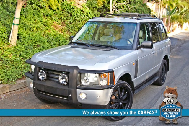 2004 Land Rover RANGE ROVER HSE 1-OWNER NAVIGATION XENON REAR DVD SYSTEM Woodland Hills, CA 0