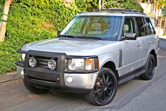 2004 Land Rover RANGE ROVER HSE 1-OWNER NAVIGATION XENON REAR DVD SYSTEM Woodland Hills, CA 1