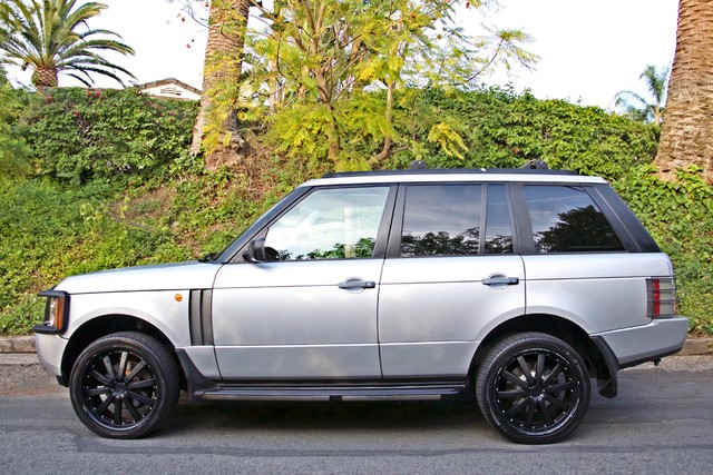 2004 Land Rover RANGE ROVER HSE 1-OWNER NAVIGATION XENON REAR DVD SYSTEM Woodland Hills, CA 6