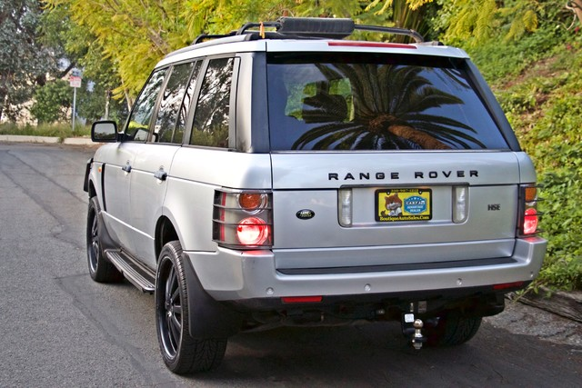 2004 Land Rover RANGE ROVER HSE 1-OWNER NAVIGATION XENON REAR DVD SYSTEM Woodland Hills, CA 8