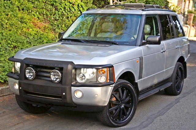 2004 Land Rover RANGE ROVER HSE 1-OWNER NAVIGATION XENON REAR DVD SYSTEM Woodland Hills, CA 35