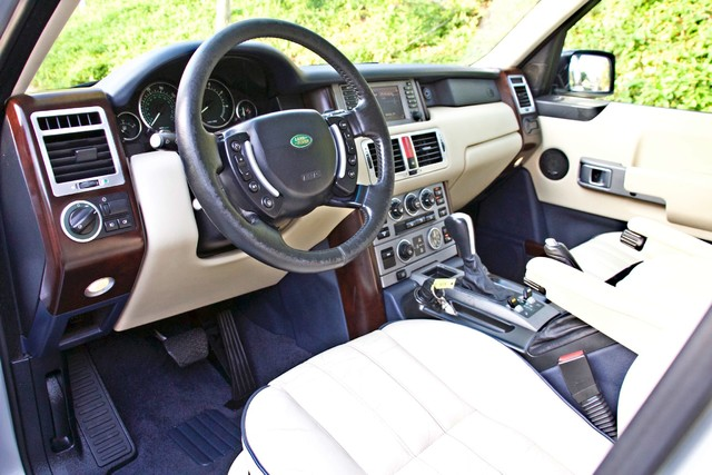 2004 Land Rover RANGE ROVER HSE 1-OWNER NAVIGATION XENON REAR DVD SYSTEM Woodland Hills, CA 17
