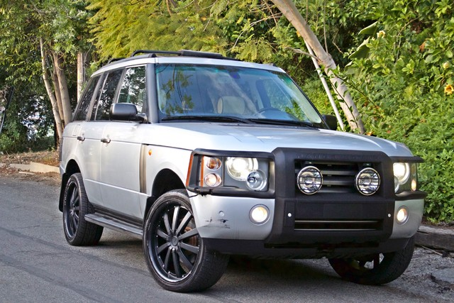 2004 Land Rover RANGE ROVER HSE 1-OWNER NAVIGATION XENON REAR DVD SYSTEM Woodland Hills, CA 5