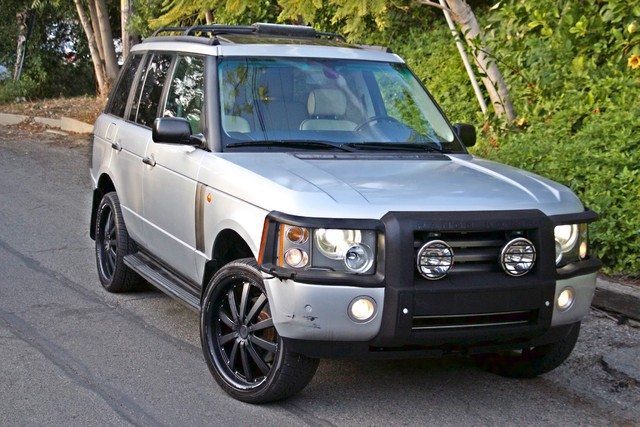 2004 Land Rover RANGE ROVER HSE 1-OWNER NAVIGATION XENON REAR DVD SYSTEM Woodland Hills, CA 4