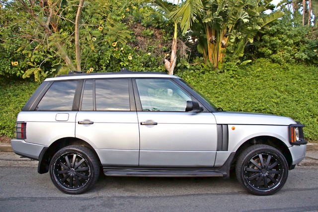 2004 Land Rover RANGE ROVER HSE 1-OWNER NAVIGATION XENON REAR DVD SYSTEM Woodland Hills, CA 7