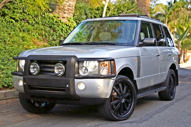 2004 Land Rover RANGE ROVER HSE 1-OWNER NAVIGATION XENON REAR DVD SYSTEM Woodland Hills, CA 2