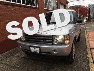 2004 Land Rover Range Rover HSE 4 Wheel Drive Local History 2 Owner Excellent Condition Seattle, Washington