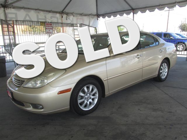 2004 Lexus ES 330 Please call or e-mail to check availability All of our vehicles are available