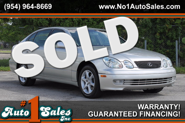 2004 Lexus GS 300  WARRANTY CARFAX CERTIFIED AUTOCHECK CERTIFIED 2 OWNERS 12 SERVICE RECORD