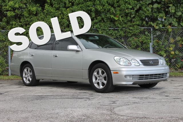 2004 Lexus GS 300  WARRANTY CARFAX CERTIFIED 13 SERVICE RECORDS FLORIDA VEHICLE TRADES WELC
