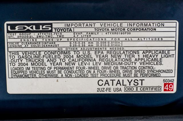 2004 Lexus GX 470 Reseda, CA 46