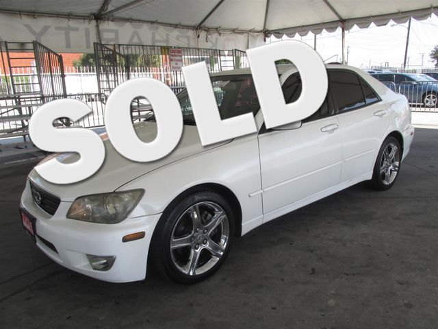 2004 Lexus IS 300 This particular vehicle has a SALVAGE title Please call or email to check avail