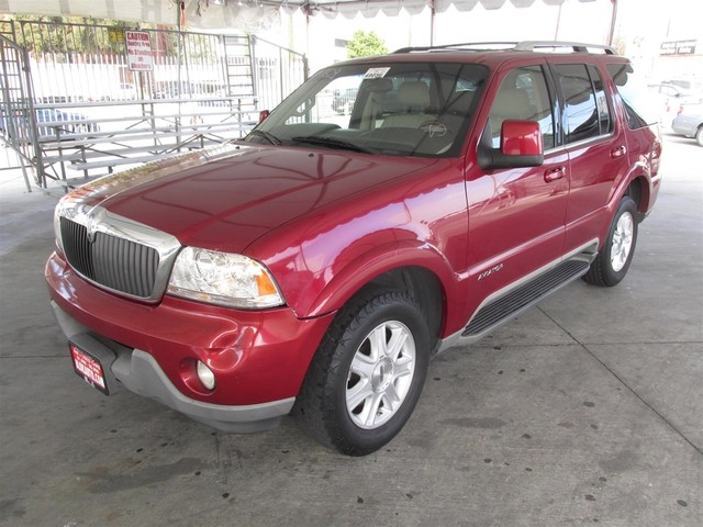 2004 Lincoln Aviator Luxury This particular Vehicle comes with 3rd Row Seat Please call or e-mail
