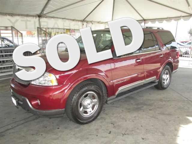 2004 Lincoln Navigator Luxury This particular Vehicle comes with 3rd Row Seat Please call or e-ma