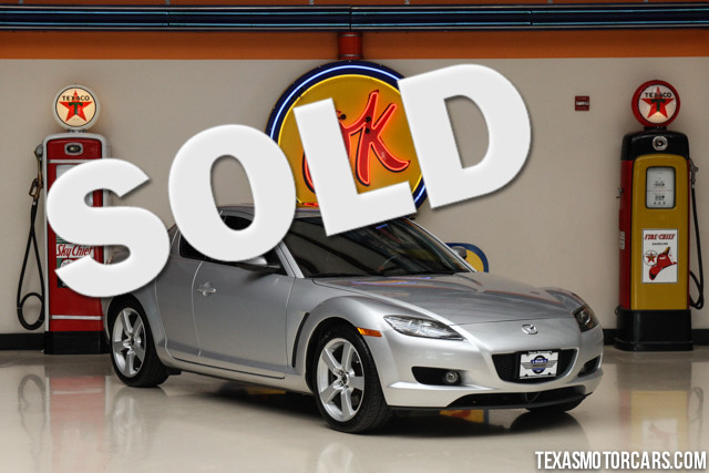 2004 Mazda RX-8 Financing is available with rates as low as 29 wac Get pre-approved in no time