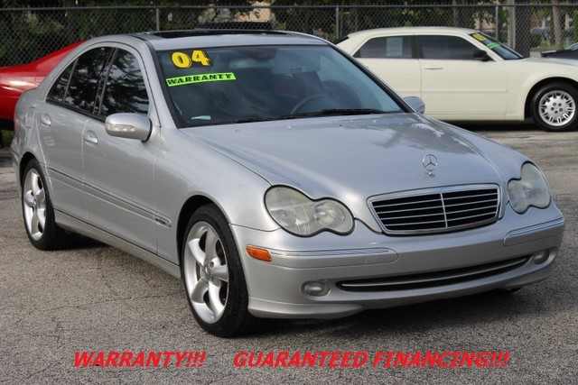 2004 Mercedes C230 18L  WARRANTY SUPERCHARGED SUNROOF PACKAGE  Experience the joys of Mer