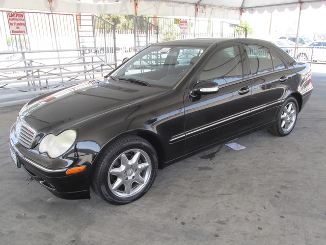 2004 Mercedes C240 26L This particular Vehicles true mileage is unknown TMU Please call or e-