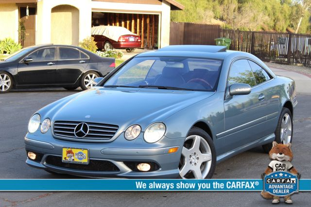 2004 Mercedes-Benz CL500 5.0L COUPE AUTOMATIC LEATHER XENON PARKING SENSORS Woodland Hills, CA 0