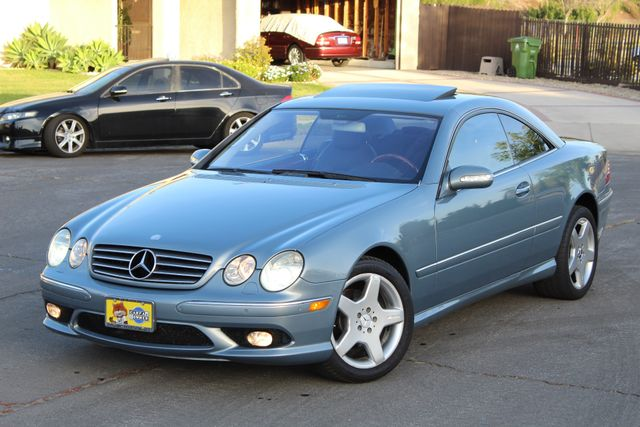 2004 Mercedes-Benz CL500 5.0L COUPE AUTOMATIC LEATHER XENON PARKING SENSORS Woodland Hills, CA 1