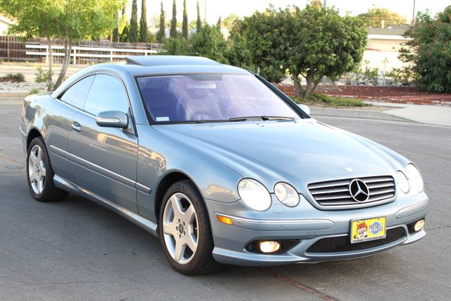 2004 Mercedes-Benz CL500 5.0L COUPE AUTOMATIC LEATHER XENON PARKING SENSORS Woodland Hills, CA 8