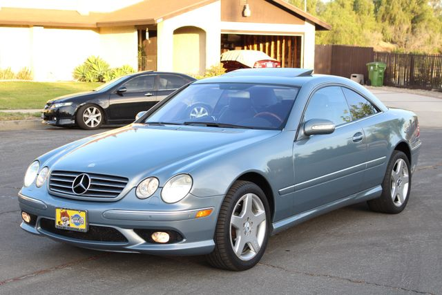 2004 Mercedes-Benz CL500 5.0L COUPE AUTOMATIC LEATHER XENON PARKING SENSORS Woodland Hills, CA 10