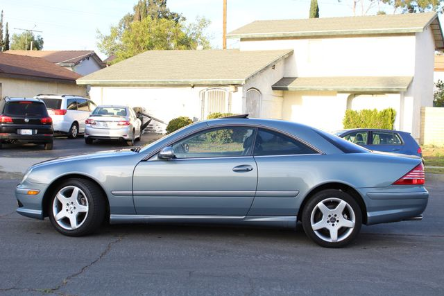 2004 Mercedes-Benz CL500 5.0L COUPE AUTOMATIC LEATHER XENON PARKING SENSORS Woodland Hills, CA 3