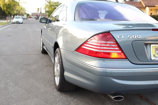 2004 Mercedes-Benz CL500 5.0L COUPE AUTOMATIC LEATHER XENON PARKING SENSORS Woodland Hills, CA 17