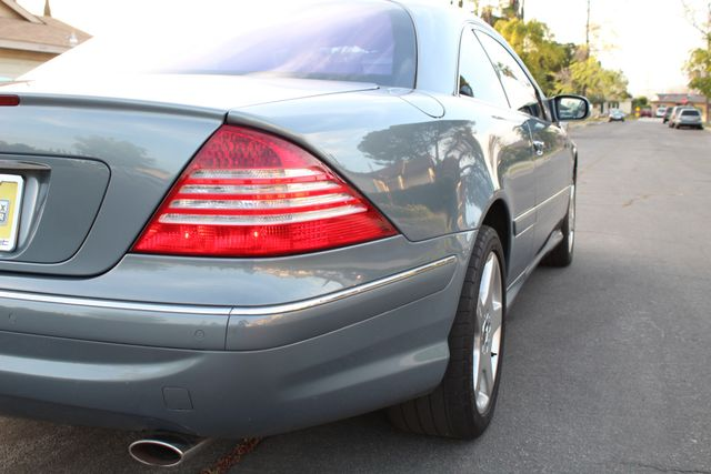 2004 Mercedes-Benz CL500 5.0L COUPE AUTOMATIC LEATHER XENON PARKING SENSORS Woodland Hills, CA 18