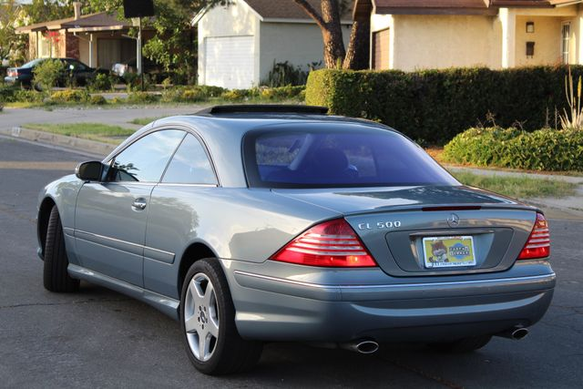2004 Mercedes-Benz CL500 5.0L COUPE AUTOMATIC LEATHER XENON PARKING SENSORS Woodland Hills, CA 4