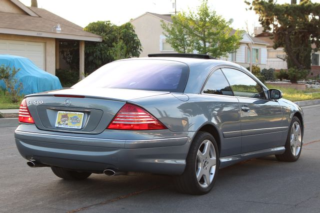2004 Mercedes-Benz CL500 5.0L COUPE AUTOMATIC LEATHER XENON PARKING SENSORS Woodland Hills, CA 6